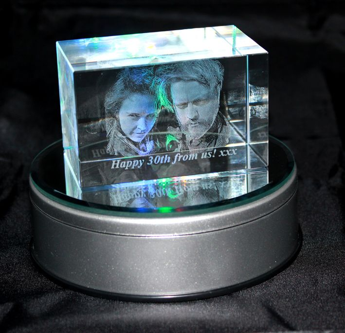 3D Photo Crystal Medium (Odyssey 80x50x50mm)