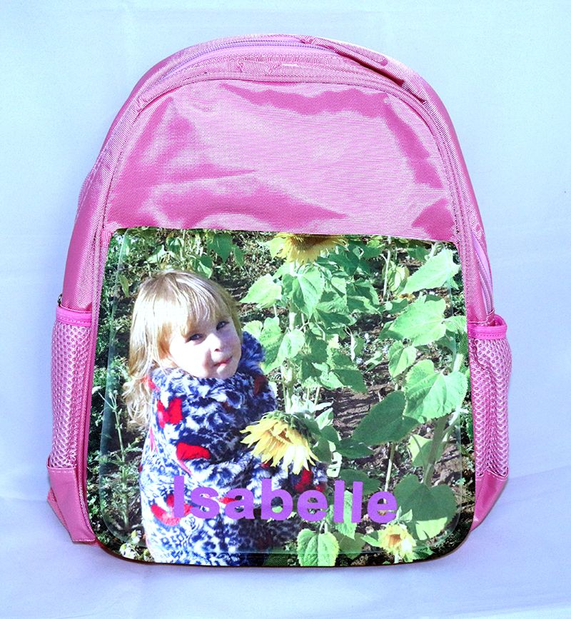 Child's Personalised Photo Rucksack