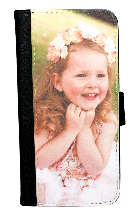 iPhone 6 Plus Personalised Photo Flip/Wallet Phone Case