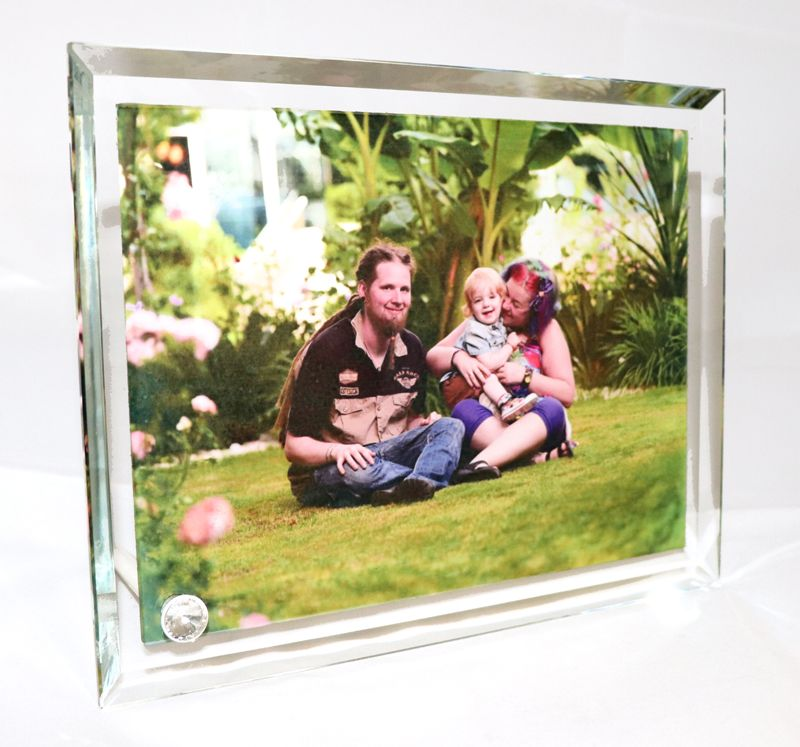 Large Photo Crystal Frame