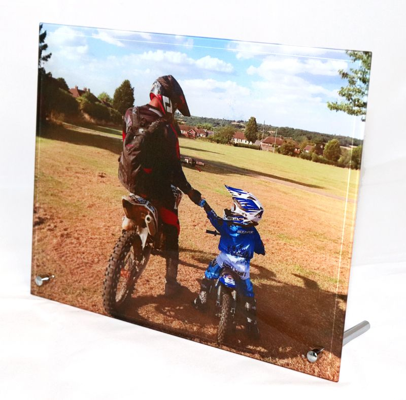 Large Photo Glass Frame