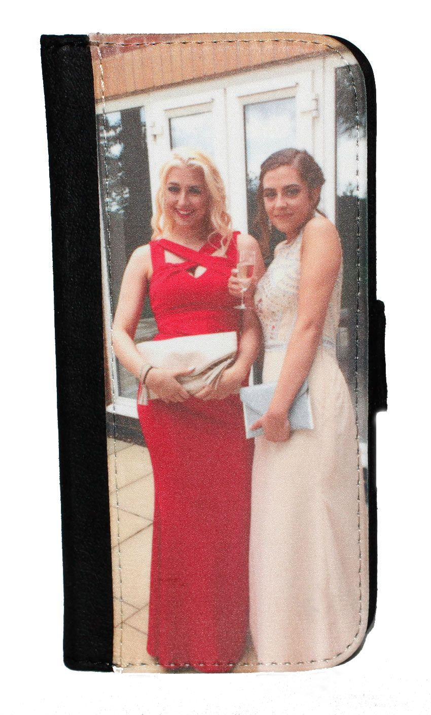 super popular 585d2 bf441 Samsung Galaxy S8 Personalised Photo Flip Wallet Phone Case