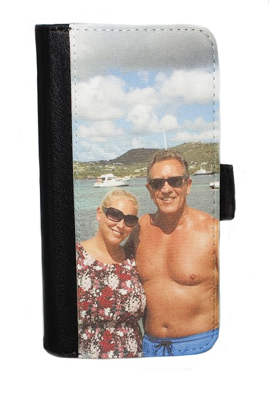 Samsung Galaxy S9 Plus Personalised Photo Flip/Wallet Phone Case