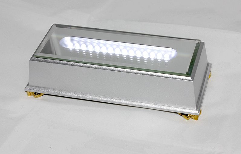 White light 2D LED Light Base & UK Power Supply